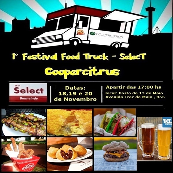 1° Festival Food Truck - SelecT 1 instagram